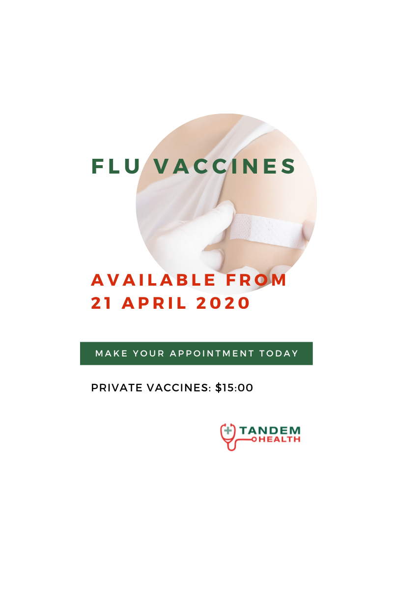 FLU VACCINES 2020 - INFORMATION FOR PATIENTS