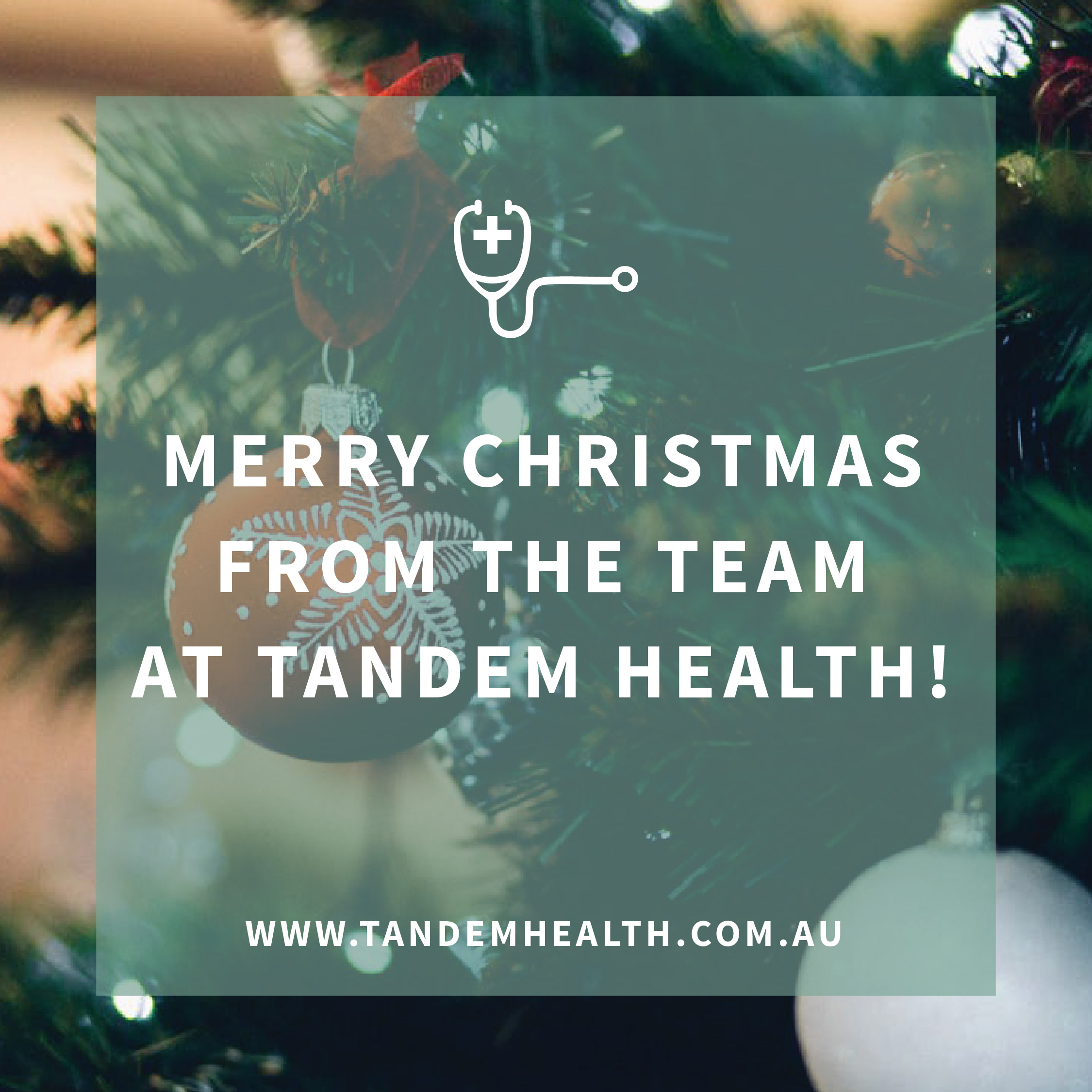 Merry Christmas from Tandem Health